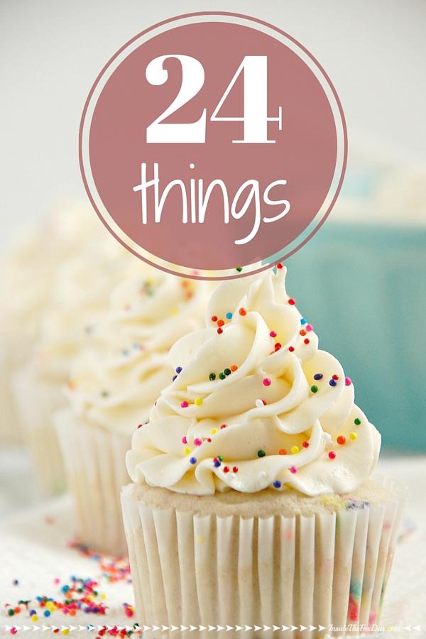 24 THINGS