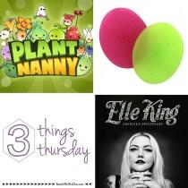 #threethingstursday May 2016