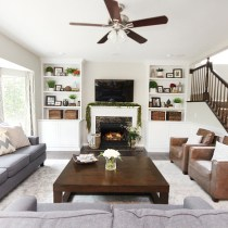 family-room-makeover-gray-couches