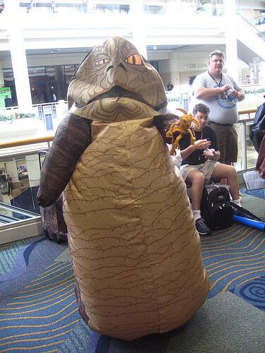 Hilarious Jabba the Hut