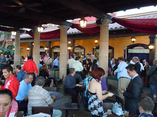 La Cantina de San Angel outdoor eating