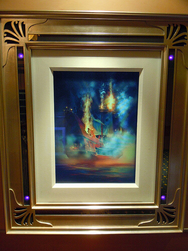 Disney Dream enchanted art - Pirates of the Caribbean