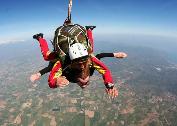 All about skydiving - tandem jump over spain