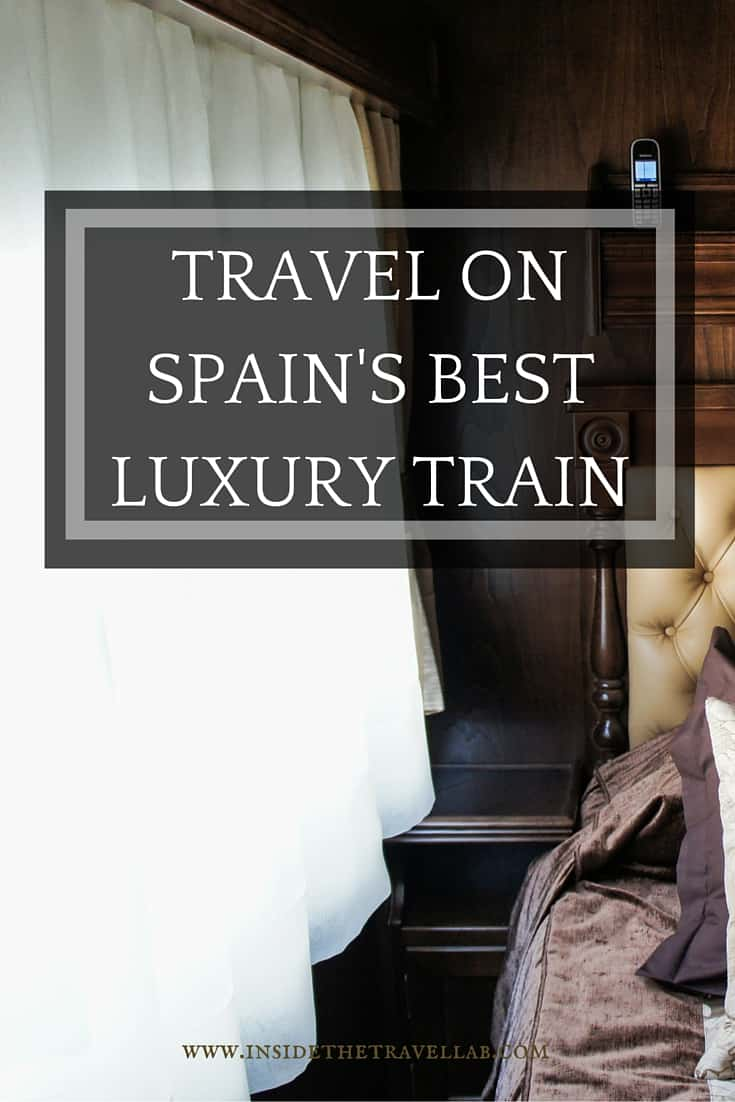 Travel by luxury train in Spain