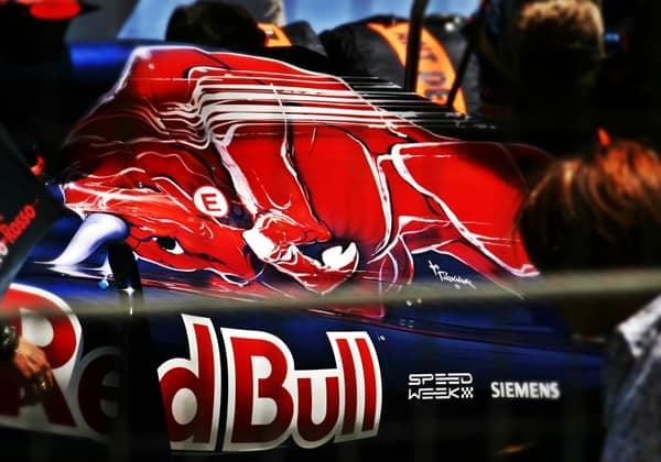 red bull at formula one toro rosso