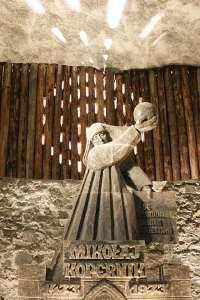 Copernicus Sculpture Salt Mine