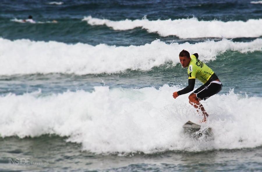 Pro Surfer Mitch Crews