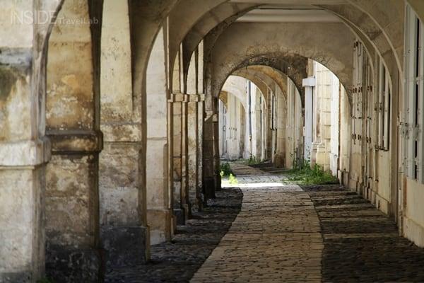 Arcades in La Rochelle