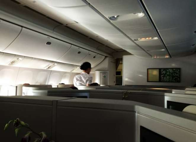 Inside the new Cathay Business cabin