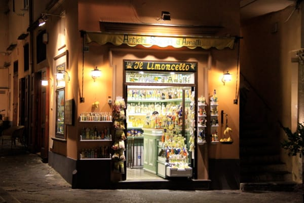 Limoncello shop Amalfi