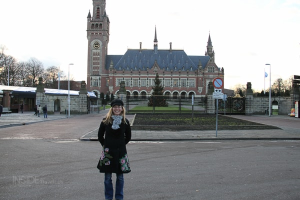Abi at The Hague