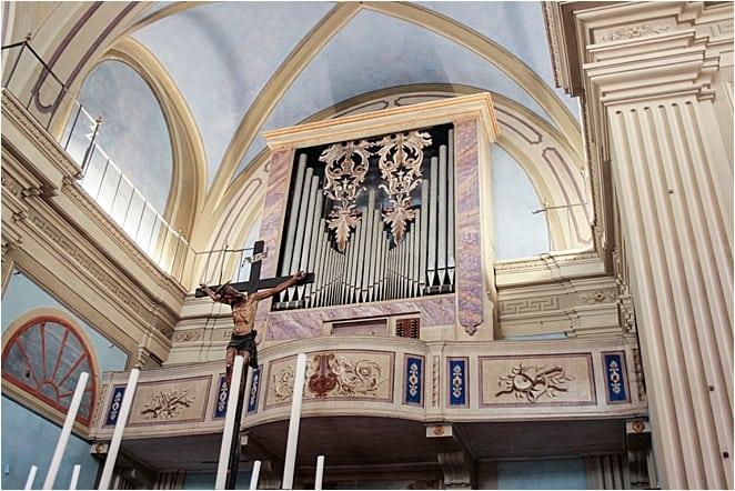 Inside the restored Nicosia MOnastery