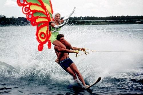 Go water skiing