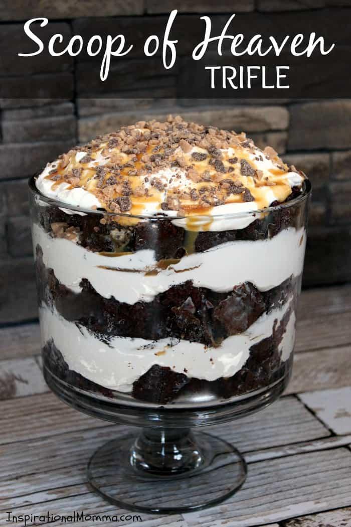 Triple Chocolate Scoop Cake Recipe