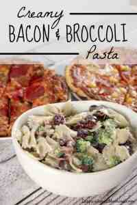 Creamy Bacon & Broccoli Pasta