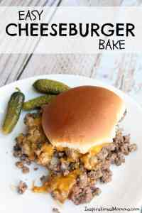 Easy Cheeseburger Bake