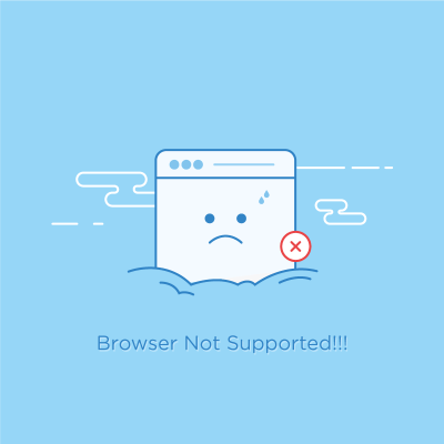 Browser Not Supported on Inspirationde