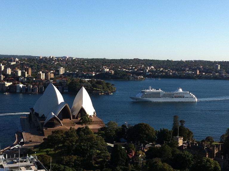 Silver Whisper Arriving Sydney