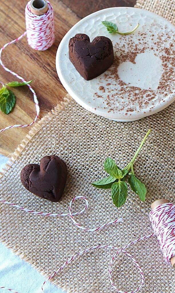 broken heart mint chocolate truffles_blog_d