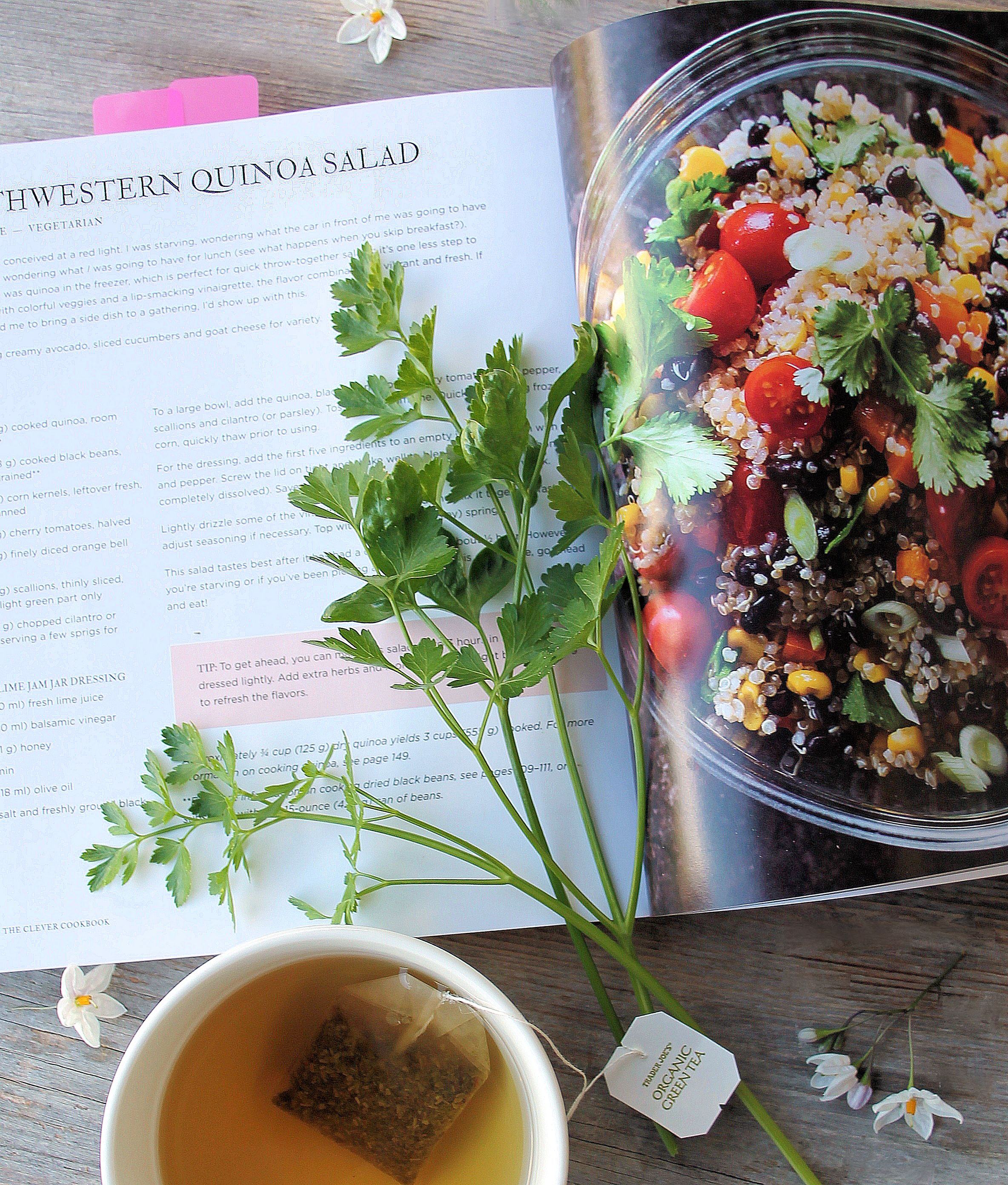 Southwestern Quinoa Salad ~ The Clever Cookbook