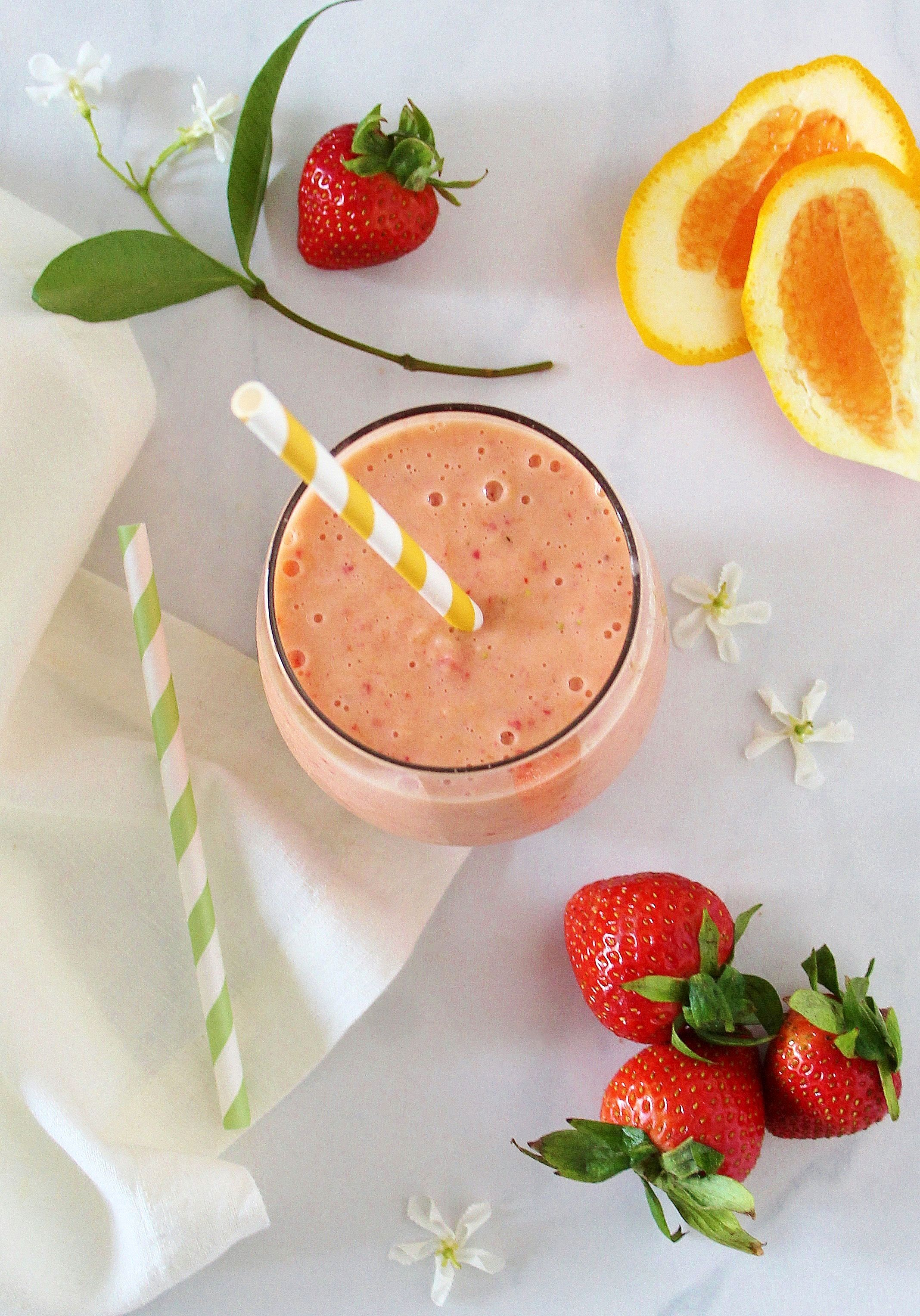 Afternoon Boost Smoothie with Hemp & Cara Cara