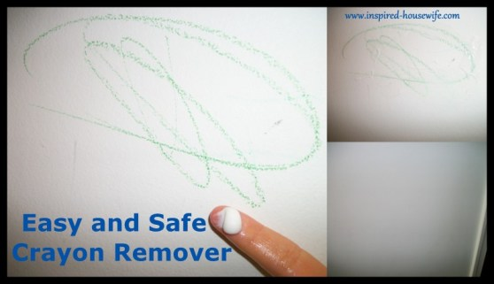 Inspired-Housewife: Easy and Safe Wall Cleaner