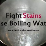 Boiling Pot of Water A Stain Fighter?