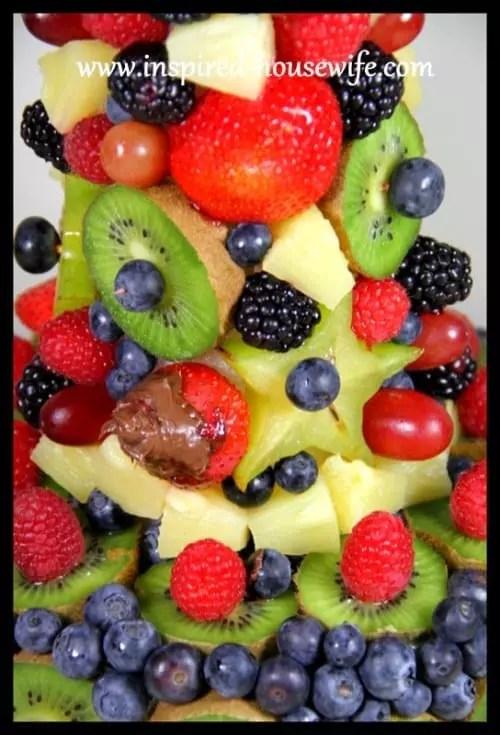 Edible Fruit Arrangement Finished Pineapple
