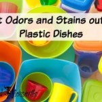 Get Odors and Stains out of Plastic Dishes