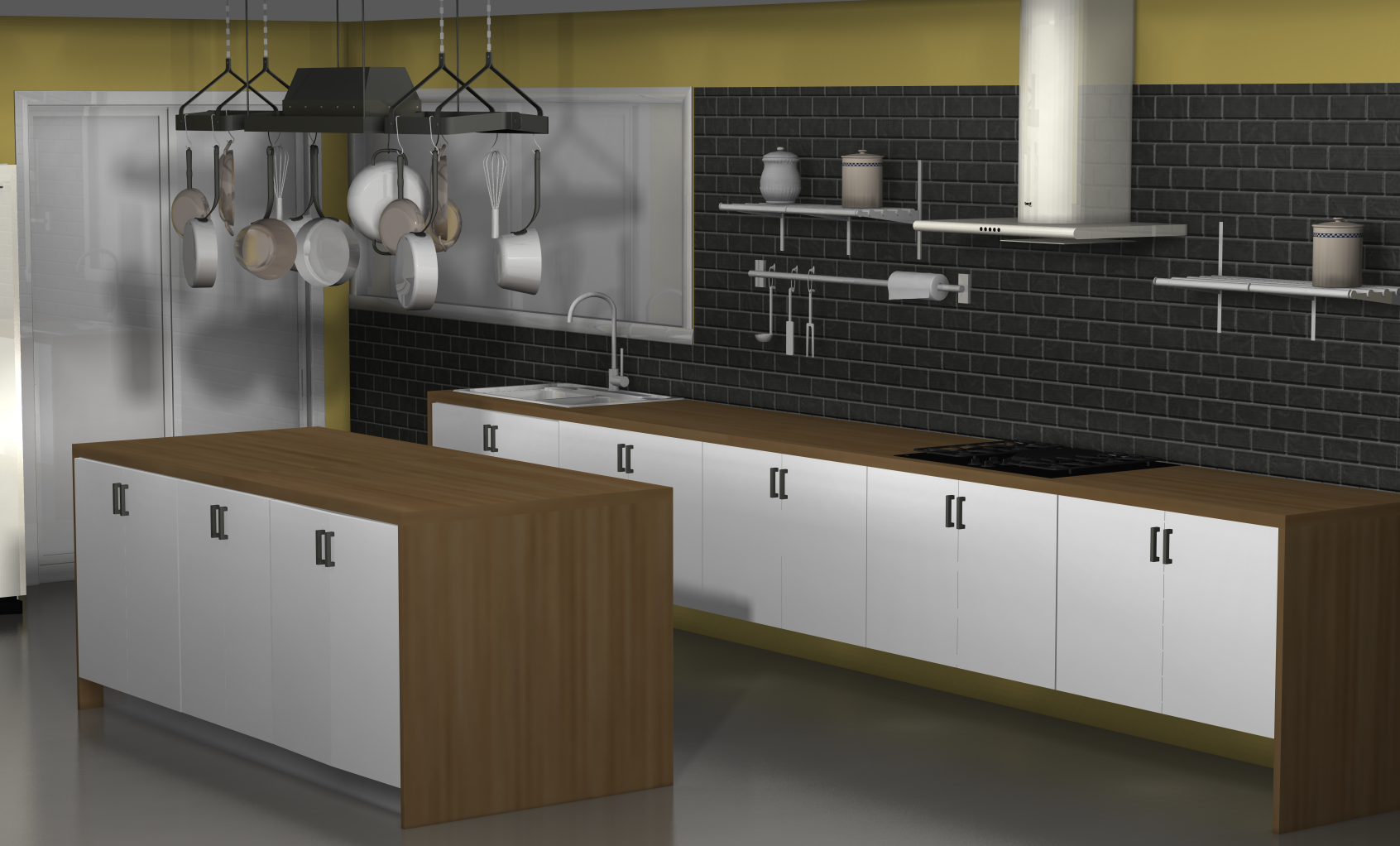 ideas for an ikea kitchen with fewer wall cabinets ikea kitchen ideas One