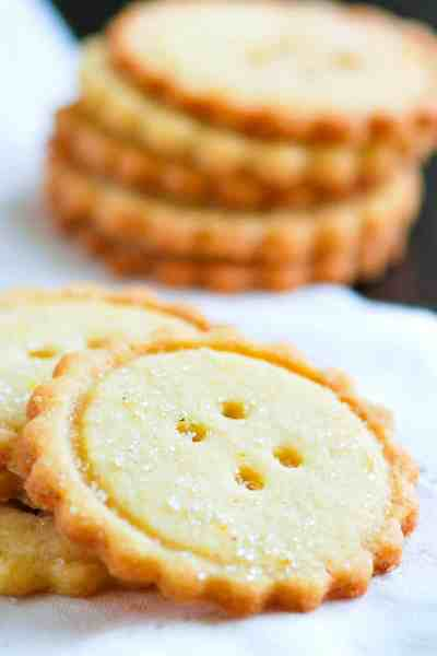 Easy Butter Cookies Recipe