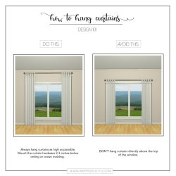 Engaging Thumb Is Tomount Curtains Inches Below Ceiling Or Crown How To Hang Curtains Inspired To Style How To Hang S Bedroom How To Hang S Over Sofa I Prefer To Hang Panels As As A Rule photos How High To Hang Pictures