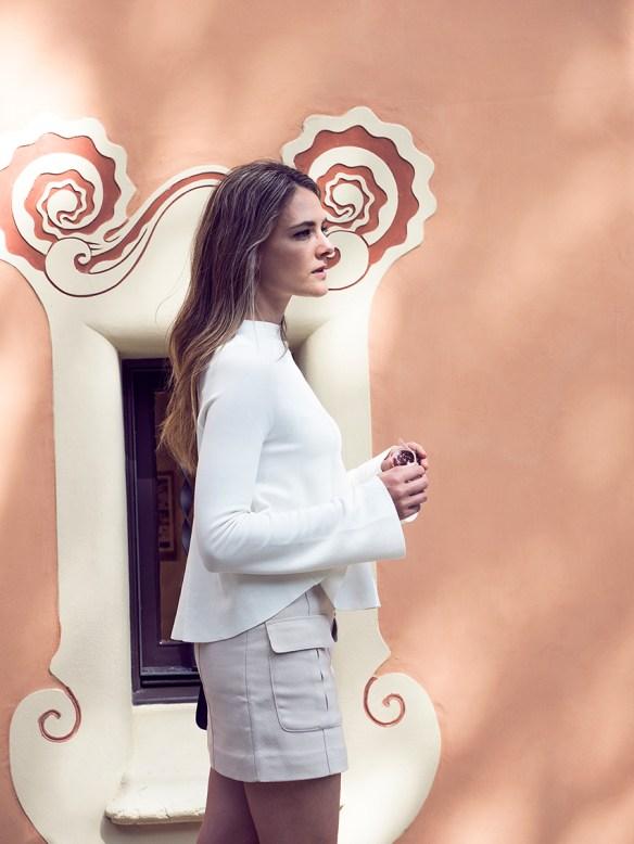 Fashion blogger in Barcelona