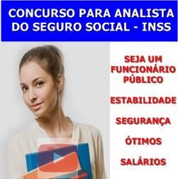 CONCURSO PARA ANALISTA DO SEGURO SOCIAL – INSS
