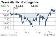 Alleghany Corporation Takes Over Transatlantic Holdings Inc.