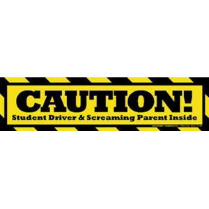 Caution! Student Driver Inside - Student Car Insurance