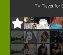 Tela do aplicativo Spotify no Android TV