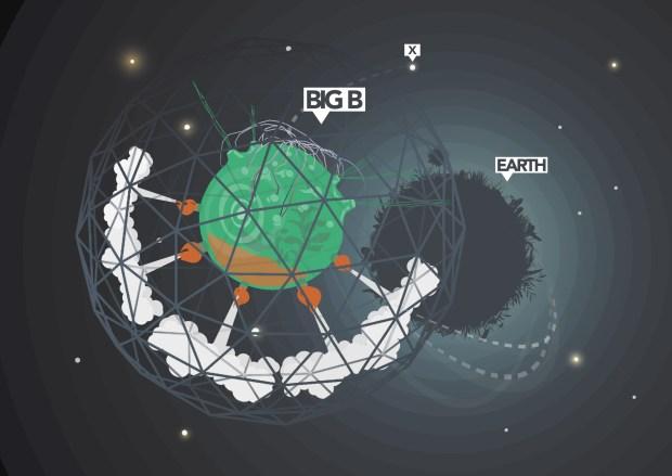 Re-earth: Big-B exploring unknown territory: the urban London
