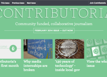 Interview with Sarah Hartley, Editor of Contributoria