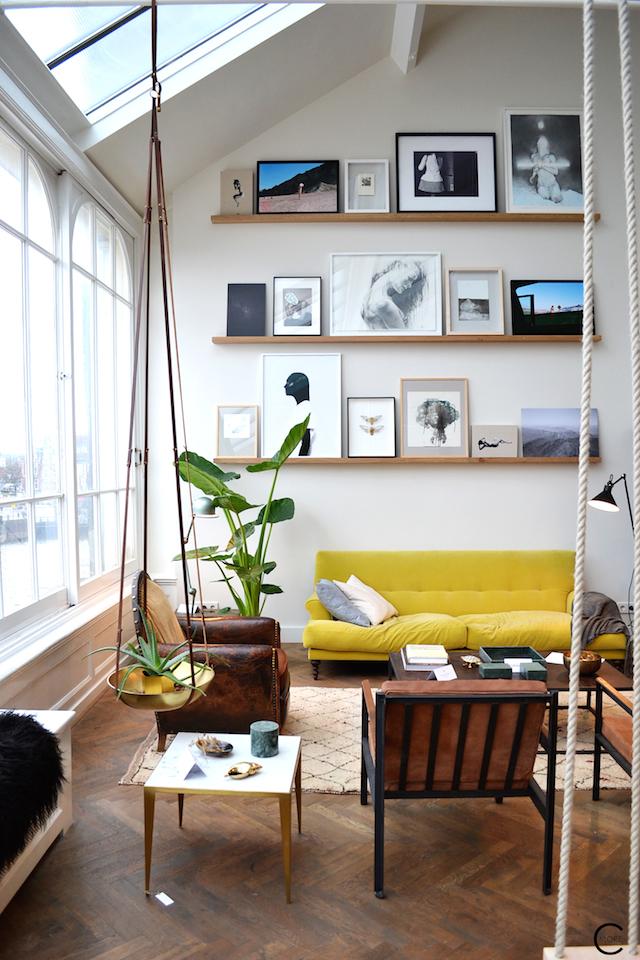 The Loft  Amsterdam | The playing Circle | interior design inspiration | Vintage