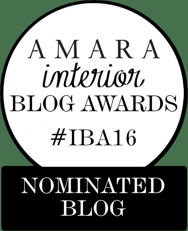 C-More interior blog nominated for Amara Blog Interior Awards