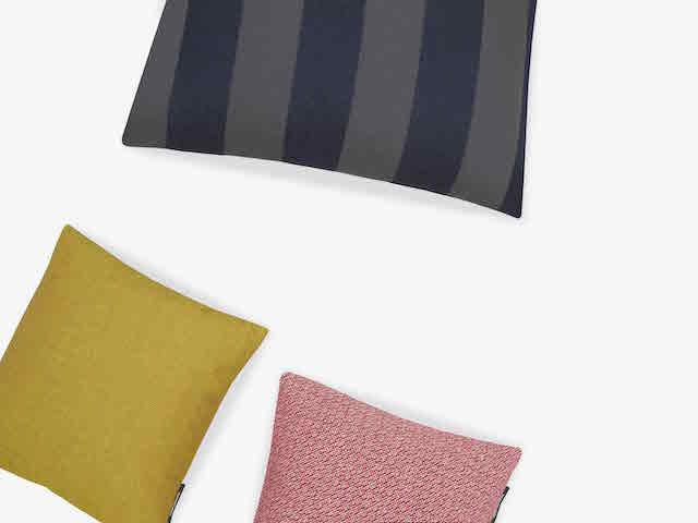 Raf Simons   Kvadrat   Reflex Pulsar Fuse   Cushion + Textile collection