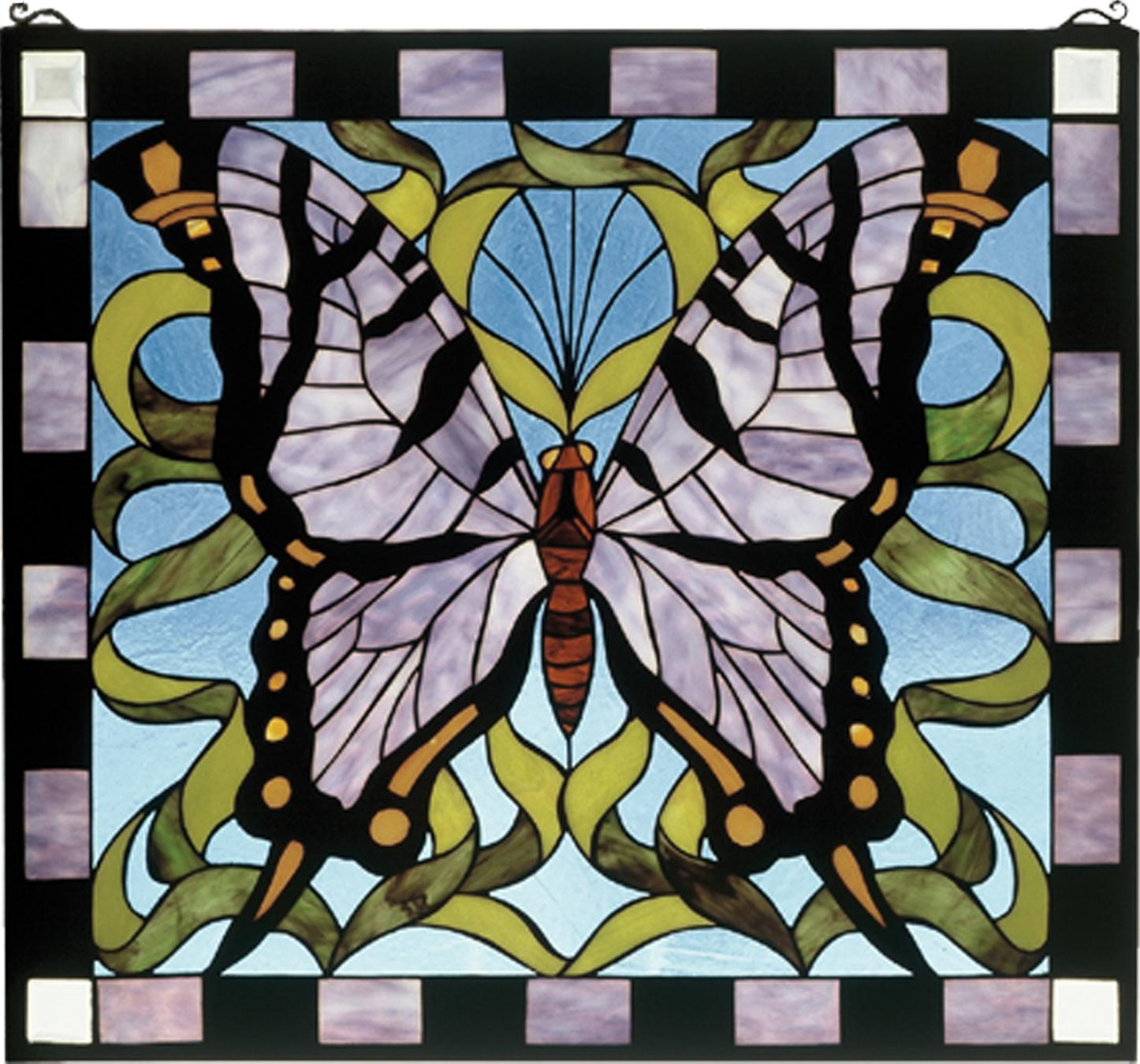 Fullsize Of Stained Glass Butterfly