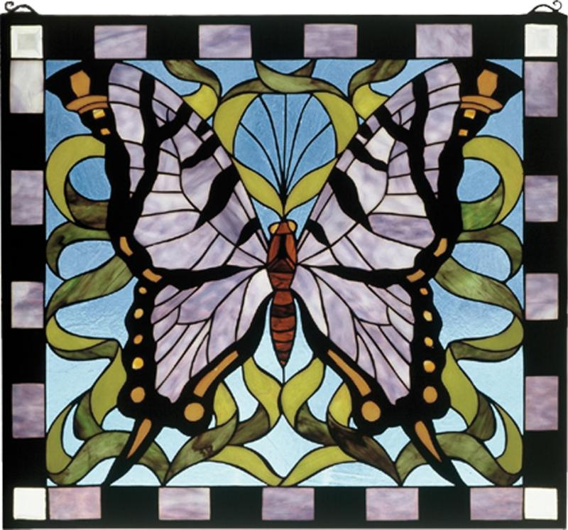 Large Of Stained Glass Butterfly