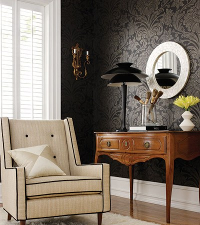 Budget Interior Decorations: Wallpaper vs. Paint   InteriorHolic.com