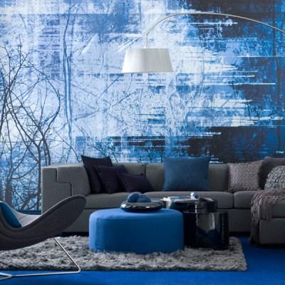 Interesting Blue Color Schemes For Living Room | InteriorHolic.com