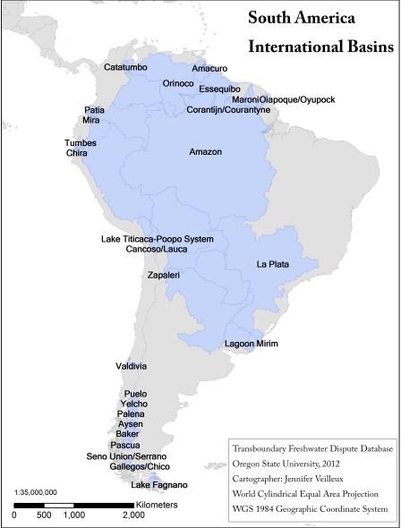 International Basins of South America