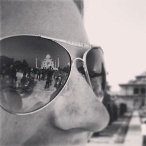 Reflecting on the Taj Mahal