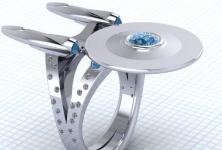 Star Trek Enterprise Ring