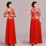Asian-inspired-mandarin-red-Chinese-dress  (26)